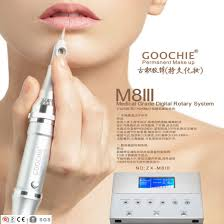 goochie m8 3 digital permanent makeup tattoo machine kit