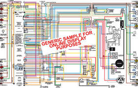 color wiring diagrams for chevy chevelle malibu monte carlo 1966 El Camino Wiring Diagram 1964 chevy chevelle malibu & el camino color wiring diagram 1966 el camino wiring diagram