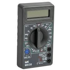 <b>IEK Мультиметр</b> цифровой <b>Universal M838</b> — купить оптом в ...