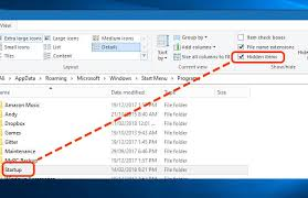 How To Access Startup Folder In Windows 10