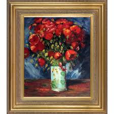 poppies by vincent van gogh framed painting
