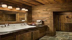 Cabin Bathroom Rustic Cabin Bathrooms
