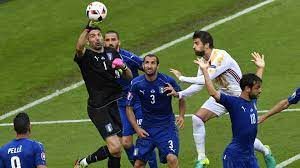 Italy v Spain Match Report, 6/27/16 ...