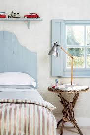 See all our stylish bedroom design ideas. Including this New England style  bedroom with faded