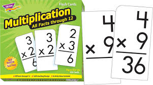 Trend Flash Cards Multiplication All Facts Through 12 Set Of 169