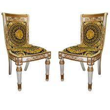 Amarante - VERSACE - Versace Pair Of Chair - 1stdibs