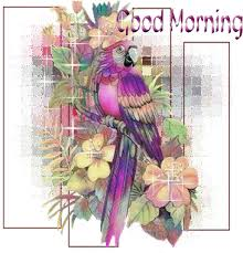 colorful good morning graphic