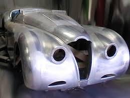 jaguar xk120 restoration by mph motor panels