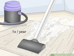 using a steamer image titled clean a wool carpet step 10