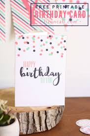 free printable photo birthday cards free printable birthday card and a giveaway liz on call
