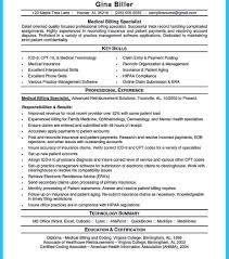 Medical Coder Resume Literarywondrous Medical Billing Resume Samples Jennifer Lowe 92