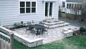 diy patio ideas patio ideas wonderful backyard stone patio design ideas sitting wall and patios amp diy patio