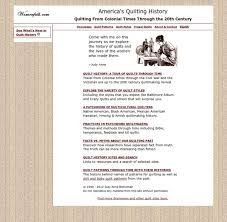 America's Quilting History, Quilt Styles and Quilting Myths ... & America's Quilting History, Quilt Styles and Quilting Myths Adamdwight.com