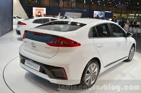 2018 hyundai ioniq. unique 2018 hyundai ioniq hybrid rear three quarters at the 2016 geneva motor show for 2018 hyundai ioniq e