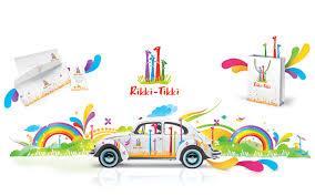 Фирменный стиль разработка и дизайн стиля для компаний в Москве  Разработка стиля организации Рикки Тикки полный комплекс