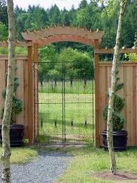 Small Picture Garden Gate Arbors Designs Garden ideas and garden design