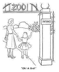 Zoo Color Pages free printable zoo coloring pages for kids on zoo coloring sheets