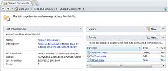 Form Library Sharepoint 2010 Creating Custom List Forms In Document Libraries Microsoft