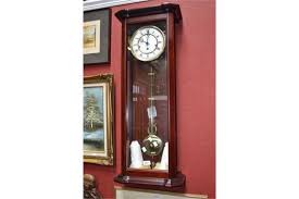 westminster chiming vienna style wall clock