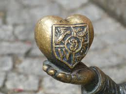 Image result for heart statue