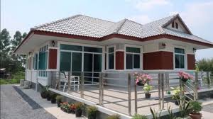modern design for a 3 bedroom house with free floor plan