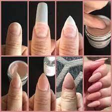 diy acrylic nails acrylic nails at