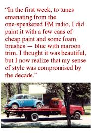 Vw Quote Chris' VW Bug First Car 66