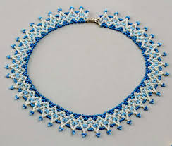 Free Beading Patterns To Download Enchanting Free Pattern For Beaded Necklace Welkin Beads Magic Free Patterns