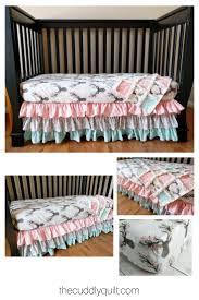 nursery beddings woodland creatures crib bedding also modern