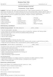 Cna Resume Templates - Radioberacahgeorgia.tk