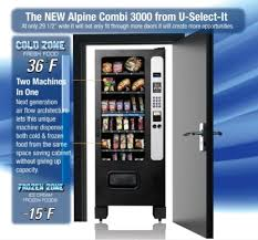 New Vending Machines Technology New New ProductsAlpine Combi 48