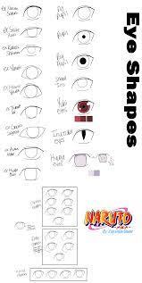 Naruto Character Guide: Eyes by anniberri   Naruto eyes, Naruto sketch,  Naruto