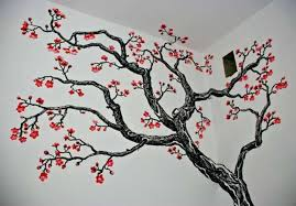 tree branch wall art branches painted on real  on wall art with real tree branches with tree branch wall art decor branches stickers myfirstprofit