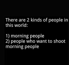 the morning people image quote