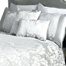 metallic silver comforter metallic comforter set rose