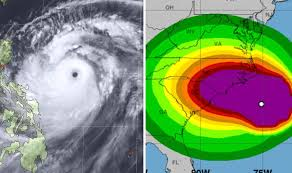 Hurricane Florence v Typhoon Mangkhut: Difference between ...