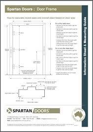 door size door frame measurement guide