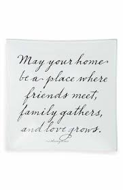 Decorative Glass Trays Ben's Garden 'Love Grows' Decorative Glass Tray Quotes Pinterest 65