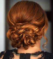 40 stylish updos for medium hair