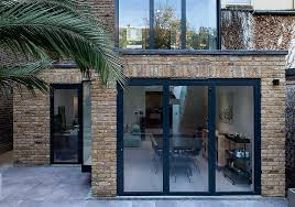 aluminium bi folding doors help to connect the outside with the inside