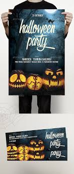 Halloween Dance Flyer Templates Halloween Flyer Psd Template Cover Bash Download