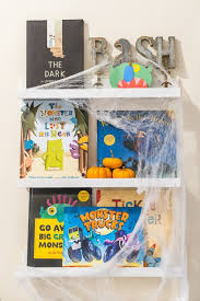 we re roarin back into our sunday shelfies with bash s favorite scary but not too scary books just in time for while we have little blue