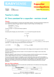 marvelous time constant for a capacitor resistor circuit equation dfbeddddee large size