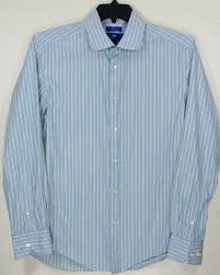 Egara Size Chart Egara Slim Fit Long Sleeve Button Front Mens Shirt Lg 16 33