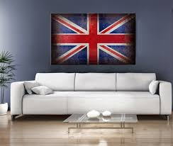 32x20 digital printed old canvas uk flag to your wall art old english flag  on digital wall art uk with 32x20 digital printed old canvas uk flag to your wall art old
