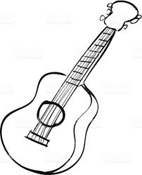 Guitar doodle stock vector art more images of acoustic guitar