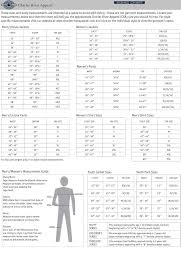 Charles River Windbreaker Size Chart Store Products
