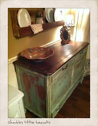 distressed antique furniture. Painted Top, Distressed And Stained Dark Waxed. - Waxing Your Furniture Vintage Antique O