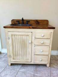 Primitive Bathroom Vanities Elegant Country Intended For Style