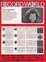 Billboard Charts 1973 By Week Record World 8 18 73 Billboard Cash Box And Record